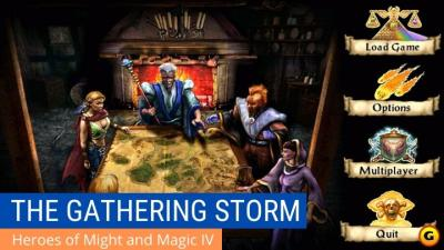 Ảnh nền heroes 4 - the gathering storm